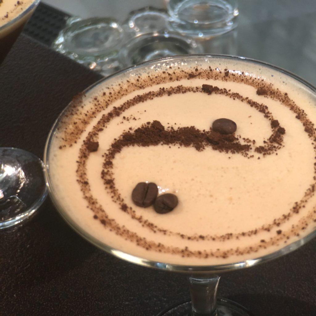 caffè shakerato bicchiere - la genovese