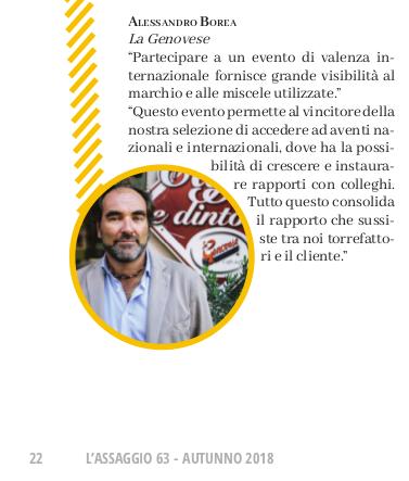 Organizzare una tappa di Espresso Italiano Champion - Alessandro Borea